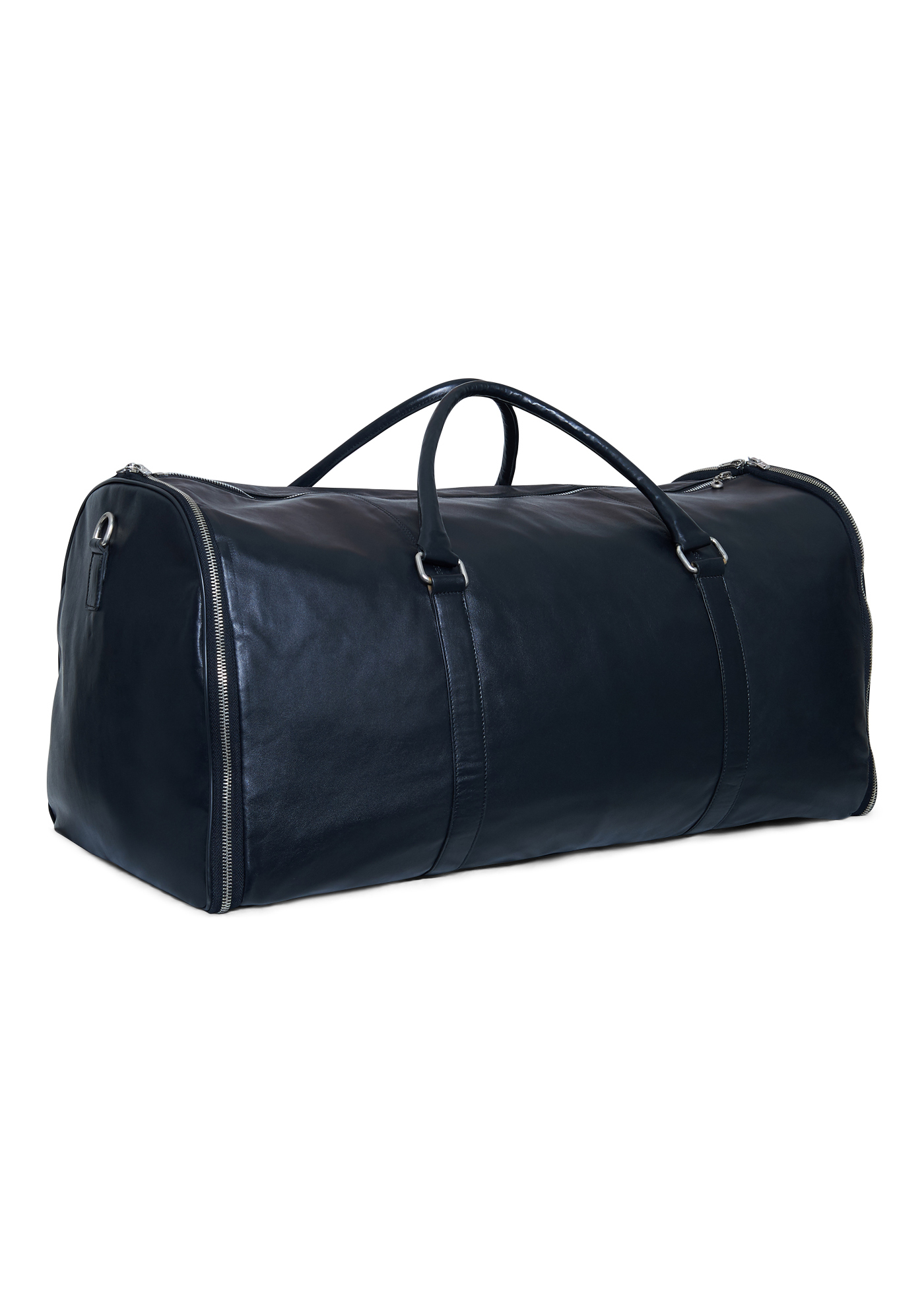 TAGS Leather Duffle Bag