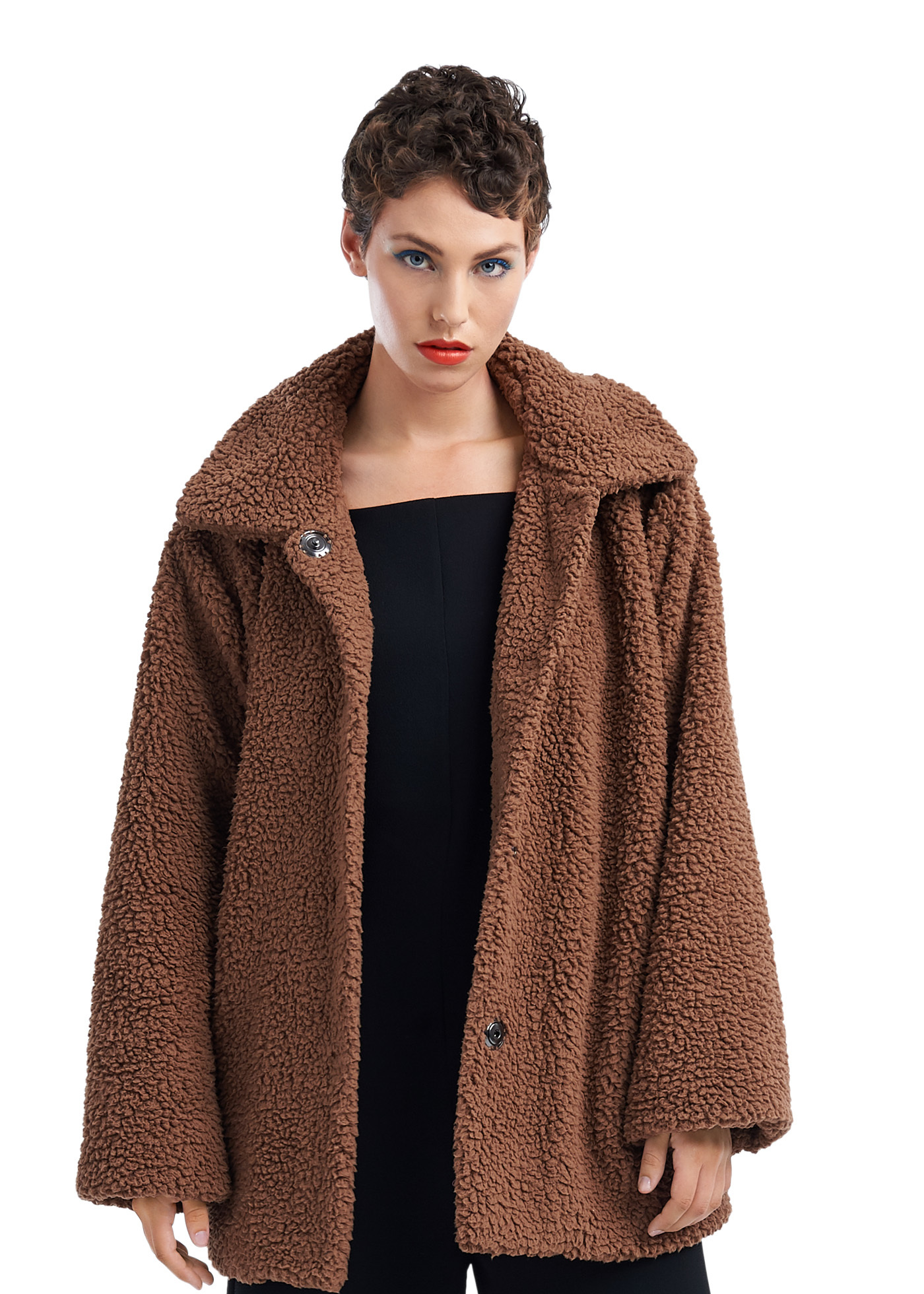 TAGS Faux Fur Coat